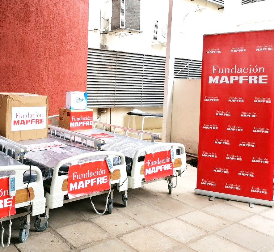 El Hospital Villa Elisa en Paraguay brinda una nueva oportunidad a Fundación MAPFRE de cooperar contra la Covid-19