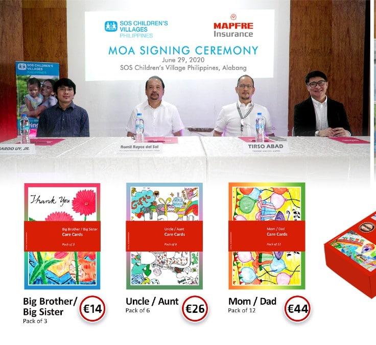 MAPFRE firma un acuerdo con Aldeas infantiles en Filipinas para reforzar la protección infantil