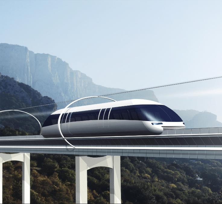 Bienvenidos al transporte del futuro: Hyperloop