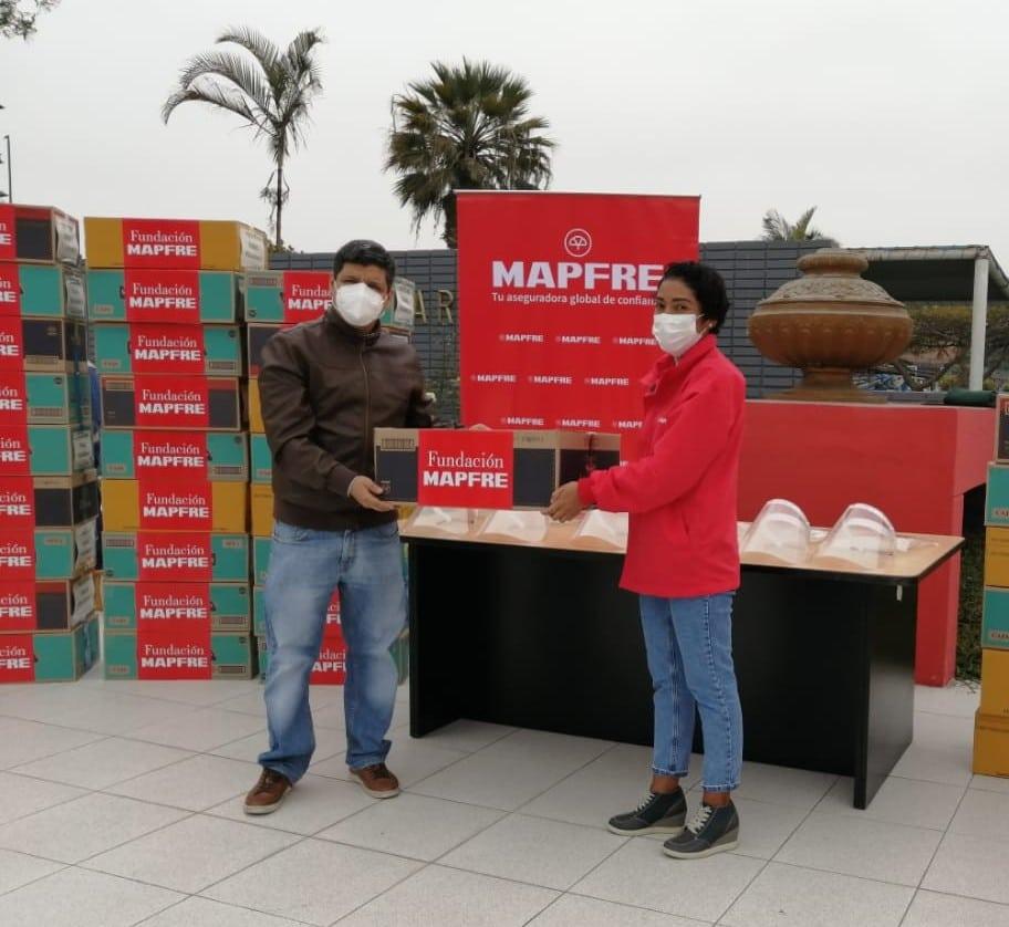 Fundación MAPFRE dona fondos en Perú para obtener ventiladores y oxígeno para pacientes de Covid